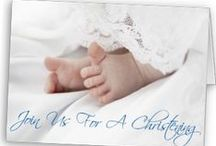 Christening Invitations / {pretty invitations for christenings and baptisms} / by One Small Child