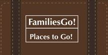 FamiliesGo! Places To GO / Travel ideas, lists, round-ups, #top10s and other things to inspire #family #travel ideas all over the world.