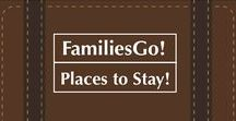 FamiliesGo! Places to Stay / Reviews and listings of hotels, resorts, vacation homes, farm stays and other travel lodging for families. #family #travel #lodging #hotels #resorts #kids