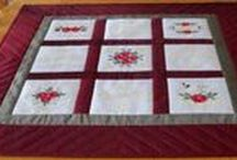 Quilting Designs using Machine Embroidery / Machine Embroidery Designs