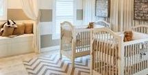 Insanely Gorgeous Nurseries! / Stunning nursery decor for the Trendy Mom.