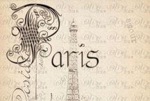{ everything french } / Some day Paris I will see you ...  / by Summertime Cottage