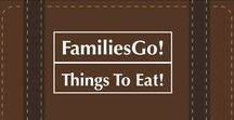 FamiliesGo! Things To Eat / Dining With Kids: Here are restaurants where parents can find food and drinks they'll like, along with better-than-average kid fare. Plus ice cream, candy shops and the treats that make vacations sweet. #Food, #Travel, #dining, #kids, #family #icecream