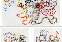 Vintage Style Machine Embroidery Designs / Machine Embroidery Designs