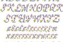 Alphabets, Fonts & Monograms / Machine Embroidery Designs