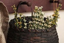 { baskets } / My love of baskets ... / by Summertime Cottage