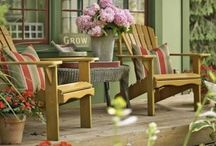 { back porch } / Would you like a glass of lemonade? / by Summertime Cottage