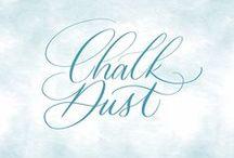 Chalk Dust / Professional Chalkboard Lettering