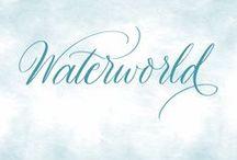 Waterworld / Watercolor art, inspiration and tutorials