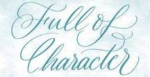 Full of Character / Animations and Illustrations