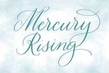 Mercury Rising / Mercury glass decor