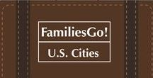 FamiliesGo! U.S. Cities With Kids / Getting away with kids to cities in the U.S. itineraries, Weekend travel ideas. #family #travel #kids. #US #cities