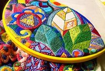 Stitchery / Hand Embroidery and Thread Painting