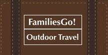 FamiliesGo! Outdoor Travel With Kids / Where and how to get outdoors with your kids and teens in the U.S., Canada and Europe. National parks, state parks, national historic sites and more. #adventure #travel #nationalparks #safari #galapagos #rainforest #ecotravel #NPS100 #stateparks #UShistory #kids #family.