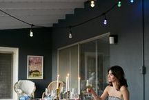Seasons Color Changing Cafe Lights / Enbrighten Seasons café string lights incorporate remote controlled color changing technology and allow you to adjust brightness and color to achieve the perfect atmosphere for your home or business. Perfect for any and all spaces!