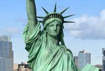 ✿*゚'゚・✿ New York...Manhattan ...Chicago ♥ / ♫♥♫♥ Happy Pinning ♥ Karin ♥♫♥♫♥  / by ~✿~  Karin D.~✿~