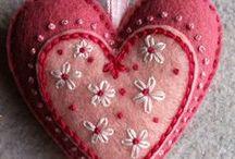 let's celebrate valentine's / by Cynthia Monroe