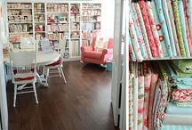 Sew Crafty Spaces / by Ursula Duncan Board