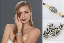 Ben-Amun Jewelry & Bridal Hair Accessories / Ben-Amun bridal hair accessories & bridal jewelry. Vintage pieces with a deco vibe.  Fabulous for jewelry parties & black tie affairs too. / by Perfect Details ~ Designer Bridal Jewelry & Accessories