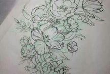 tattoo's / These are some of the tattoos that I would like to get or create my own design  / by Nadine Slater
