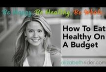 Video Tutorials / Everything you need to know about making healthy food, including fresh green juice and green smoothies, with Certified Health Coach Elizabeth Rider.  You can also head on over to http://www.elizabethrider.com and join my email list for exclusive free content including healthy recipes, cooking classes and expert wellness tips that actually work.