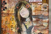 Art Mixed Media She Art