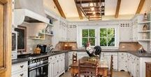 Dream Kitchens / The kitchens we dream about putting in our own homes.