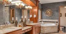 Luxurious Bathrooms / Bathroom designs for every taste!