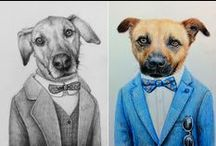 Fiverr - Pet Portraits / What if we tell you that for $5 you can get an adorable portrait of your favourite creature in the whole world and in the style of your choice?... / by Fiverr