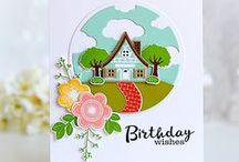 Stamps PTI Petite Places Cards