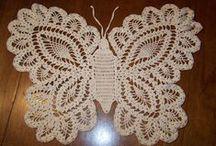 Crochê / Croché / Crochet / Inspirações de crochê. A maior variedade de materiais para crochê do Brasil: http://goo.gl/eXDbGG / by Bazar Horizonte