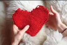 Tricô / Tejido de Punto / Knitting / Inspirações em Tricô