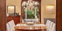 Dining Rooms to LOVE / Ideas to spruce up your dining spaces