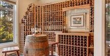 Wine Cellars / Because it's great to look at beautiful places to store your wine while you enjoy drinking a glass of wine