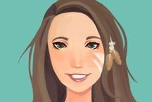 Fiverr Faces app / Fiverr Faces is a brand new iOS app where talented artists turn your selfie into a top notch portrait in the style of your choice. You can download the app and order yours right here:  https://itunes.apple.com/US/app/id965760312?mt=8 / by Fiverr