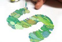 Art Watercolor Pattern