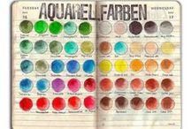 Art Watercolor Charts