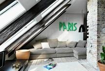 Under the roof / Sous les combles / by L'atelier Azimuté