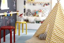 {Girls shared room - toddlers} / by Tiffany Norlock Mohazzabi