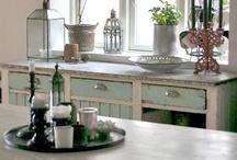 Kitchens / Cuisines / by L'atelier Azimuté