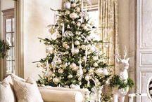 {White & Silver Christmas} / by Tiffany Norlock Mohazzabi
