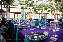 peacock wedding ideas / Peacock themed wedding ideas