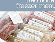 Freezer Cooking & Meal Planning Recipes and Tips
