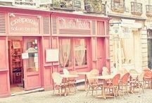 Shops & restaurants / Boutiques et restos / by L'atelier Azimuté