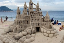 Sandcastles / Amazing sand art!