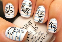 Nails / If I didn't have to do my own dishes every night, I would totally try these!