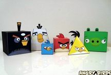 Minions, Monsters, Angry Birds and Planes Party Ideas / Boys birthday party ideas
