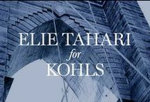 The city that never sleeps. / Elie Tahari creates Limited-Edition Collection Inspired by New York City to Debut Exclusively at Kohl's and Kohls.com  / by Elie Tahari