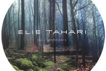 Fall 2015 Presentation / The Urban Forest Forest as a metaphor for the city… Where her wardrobe serves as protection against the elements and the urban winter landscape / by Elie Tahari