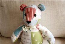Bears & friends! / Bear patterns & ideas, stuffed animal patterns / by Renee Wiley